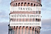 western europe travel / Travelling to Western Europe? This board features wanderlust inspiration, travel guides, road trips, travel itineraries and more for backpacking and budget friendly travel in Europe! Including Spain, Italy, The Netherlands, France, Germany, Austria, Switzerland, Malta, Greece.
