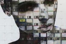 Nick Gentry / Британский художник Nick Gentry живет и создает свои необычные картины в Лондоне.