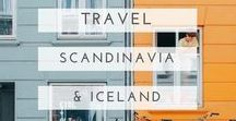 scandinavia and iceland travel / Useful guides, beautiful photography and oodles of inspiration to help plan your trip to Scandinavia or Iceland. Includes content on Sweden, Norway, Denmark, Finland and Iceland.
