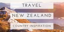 new zealand travel / The places, the people and the guides to New Zealand.