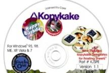 Kopykake Artwork CD's / Improve your Computerized Cake Decorating with Kopykake Artwork CD's.
