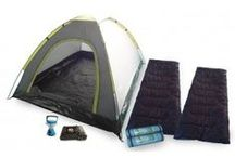 Camping Essentials / A selection of camping essentials. Ideal for camping holidays and festivals.