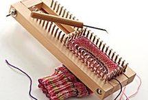 weaving - πλέξιμο σε αργαλειό και τελάρα