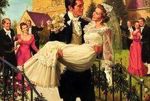 matrimoni 1 //////////////////// / feste e mondanità.abiti e coppie famose. vintage