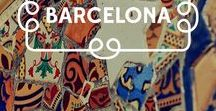Barcelona / Barcelona é imperdível porque... // Barcelona is a must because...