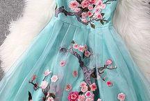 All the pretty clothes...