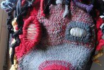 crochet art / creazione artistiche. Crochet e riciclo