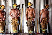 Hot Firemen ;) / by Shaz Scoullar