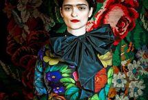 Suzanne Bisovsky / Peintures Moldaves inspiration Frida Kalo