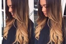 ombre hair for brunettes