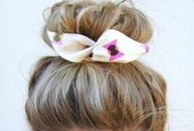 Hair / Hairstyles, colors, and cuts for casual days to special occasions like weddings or prom