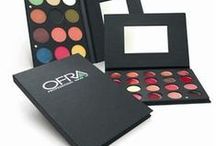 OFRA MAKEUP PALETTES / All of our makeup palettes are expertly curated, featuring stunning combinations of our most popular baked mineral products, eye shadows, contouring solutions, blushes and even lipsticks. All palettes feature our hypoallergenic cosmetics that are never tested on animals. http://ofracosmetics.com/make-uppalettes.aspx