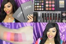 REVIEWED AND FEATURED / OFRA Cosmetics Labs products being featured and reviewed around the web.