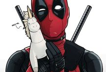 deadpool / deadpool is awsome- looks like a old avocado