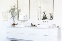 Master Bathroom / Ideas for our master bathroom at the lake house