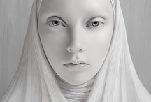 Fantastic Faces / Stunning images that I pondered and admired.