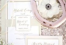 Stationery / Stylish save-the-dates, invitations, and thank-you notes that we're currently coveting.