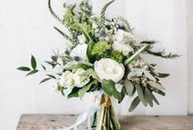 Bouts & Bouquets / Boutonniere and bouquet inspiration for brides and grooms!