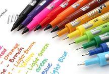 Cartoleria / Carte, penne, inchiostri e calamai