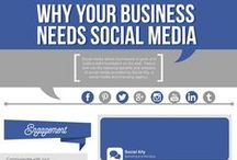 Social Media Infographs / Infographs on all things SOCIAL MEDIA! Have you joined the REVOLUTION?