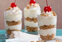 Dessert Ideas with Push Up Pop Containers / Push up pop containers is a new and fun way to display your desserts. This board will give you an inspirational thoughts of what you can do with these push pop containers. Have fun!
