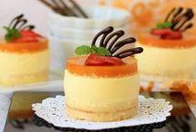 Production dessert mold / Production dessert mold for soft frozen single portion desserts like mousse, ice cream cakes, semi-frozen custards.