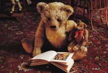 Cherished Bears / Old and new teddy bears bursting with character. Some Stuffy and Plushy friends too.
