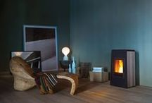 Wood Pellet stoves for Living Rooms and Interior Design Ideas /  #interiordesign #Inspiration for people wishing to use #wood pellet #stove and #wood #burning #boilers as part of a #suitable #design for their  #livingspace