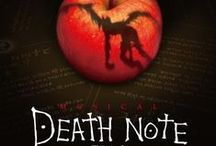 Death Note the Musical / Frank Wildhorn's musical Death Note - announced in 2014, launched in Japan in 2015. The all singing, all dancing Death Note board on Pinterest!