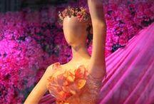 Macy's Flower Show 2015 / #Macy's #FlowerShow 2015 which focused on #Art as its theme. #flowers #flowershows #Macys #storewindows #display #FloralArt #storedisplay