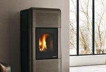 Brown Wood Pellet stoves and Interior Design Inspiration / Pictures of Brown Wood Pellet stoves . Pictures of stoves that compliment Brown as an interior design colour.
