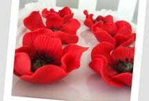 Cukorpaszta segítségek / Cukorpaszta virágok készítése