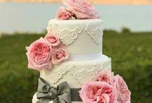 Virágos torták