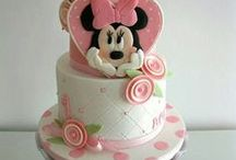 Minnie & Mickey  torták / Minnie torták