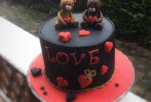 Torták Valentin napra