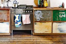 Home Inspiration / I love different styles interiors... Eclectic, bohemian, industrial and retro / vintage... Sometimes more modern, mostly colourful. Enjoy!   This board is so full.. I made another one! Check my Home Inspiration 2 board!