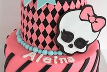 Monster High torták / Monster High torták