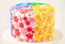 Szivárvány torták / Szivárvány torták