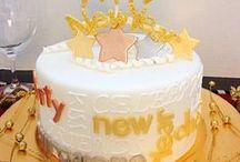 Új évi torták