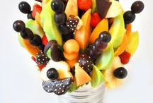 Fruit bouquets / Bouquets made from fresh fruit.