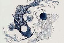 Daughters of Neptune / Poissons, mon signe astro, ainsi que celui de ma soeur. Pisces, my zodiac sign, as my sister's.