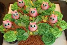 Pull apart cupcake torta / Pull apart cupcake torta fotók, és segítségek