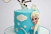 Frozen, jégvarázs torták