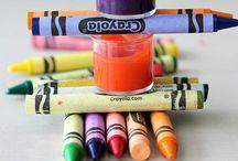 Kleurplaten / Verzameling kleurplaten.