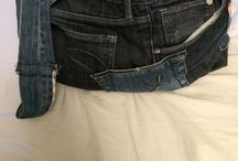 Selfmade Upcycling Jeans / Diys Jeanstasche   Upcycling Jeanstasche