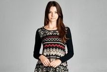 Holiday Fashion / Holiday Fashion- Women's clothing and accessories