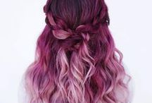 Hair ♦ / colorful hair, ombre ♥