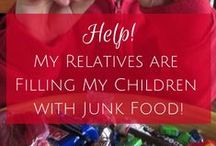 FINICKY/HEALTHY KIDS /     Some Ideas To Help Get The Munchkins Interested In Eating Their Food.    / by Diane Goff-Cornett