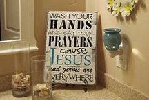 ♥Great Bathroom Ideas♥ / Great Ideas For Small Spaces / by Diane Goff-Cornett