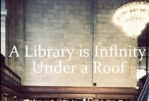 Sagt om bibliotek og bøker.